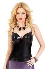 Coquette International Coquette D9292 Wetlook Tank Top Medium
