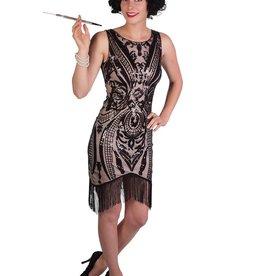 Western Fashion Art Deco Flapper Dress