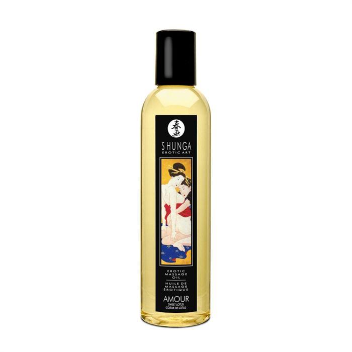 Shunga Lotus Heart Oil Amour
