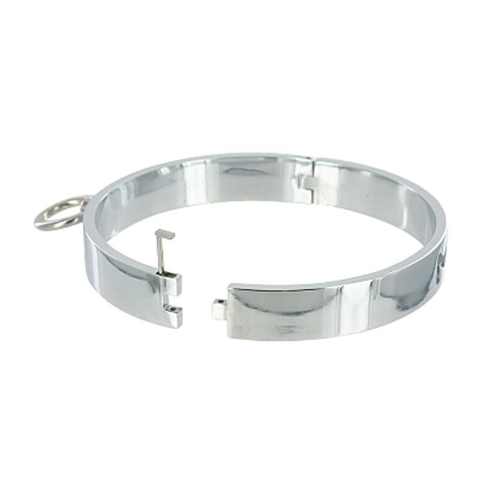 SD Variations CHROME SLAVE COLLAR - SMALL/MEDIUM