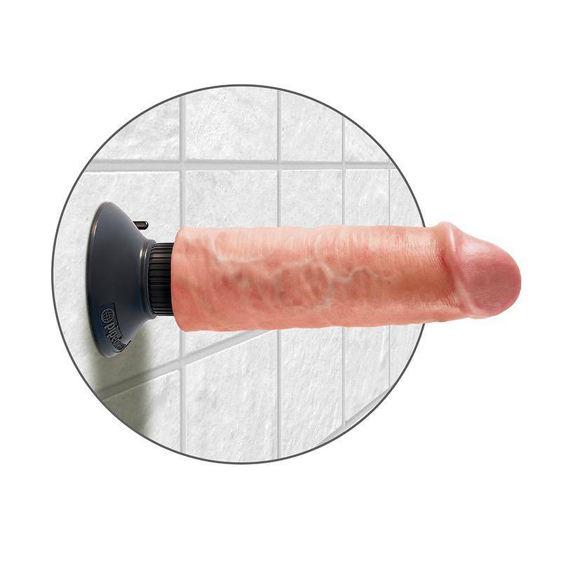 "Pipedream King Cock 6"" Vibrating Massager"