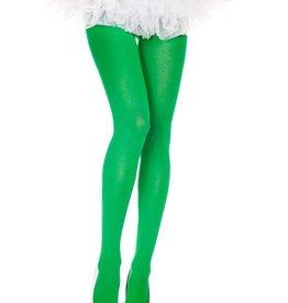 Music Legs Music Legs 747 Kelly Green Opaque Tights