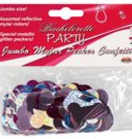 Bachlorette Party Jumbo Mylar Pecker Confetti