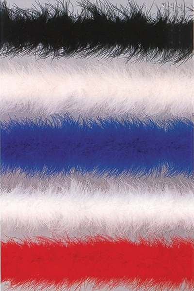 Be Wicked Marabou Feather Boa Grey