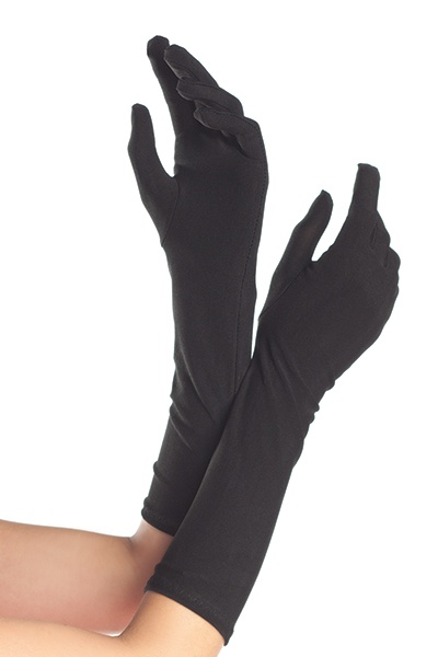 Be Wicked Be Wicked Bw100W White Mid Length Polyester Gloves