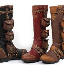 Ellie Shoes Ellie Shoes 161-Silas 1 Inch Women's Steampunk Boot