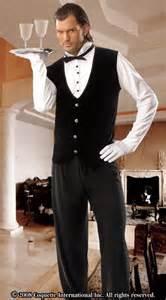 Coquette International Coquette M6503 Butler Costume