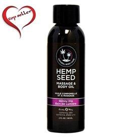 Earthly Body Earthly Body Massage Oil 2 OZ <br /> Skinny dip