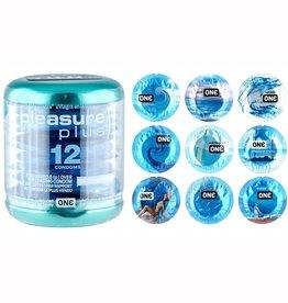 One Pleasure Plus Condoms 12 pk