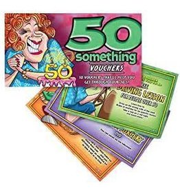 Ozze 50 Something Vouchers hers