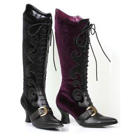 Ellie Shoes Ellie- 253-Fain Velvet Boot