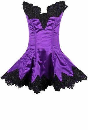 Daisy Corsets Daisy TD Beaded & Lace Corset Dress Plus Size