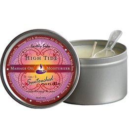 Earthly Body Hemp seed 3 in 1 Massage Candle High Tide
