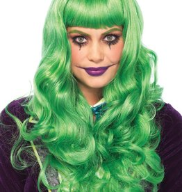Leg Avenue Misfit Long Wavy Wig Green