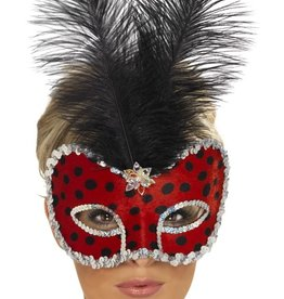 Smiffy's Lady Bug Masquerade Mask