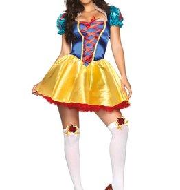 Leg Avenue Leg Ave 2pc Classic Snow White