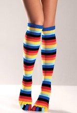 Be Wicked Rainbow Stockings with Toes