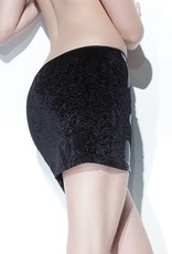 Coquette International Wet Look Skirt With Side Panels