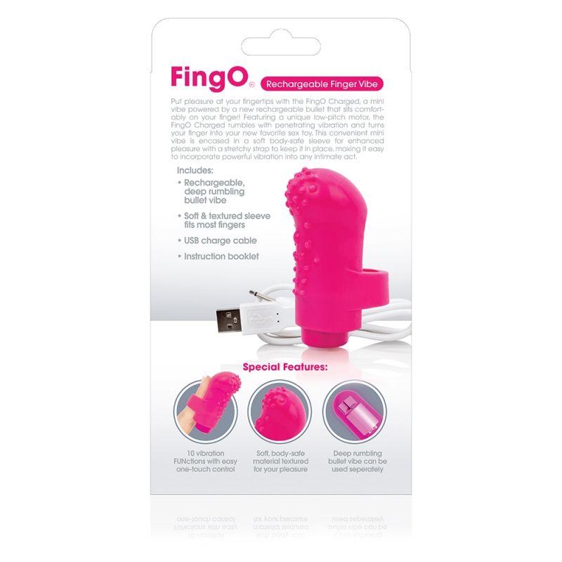 Charged FingO Vooom Mini Vibe Pink