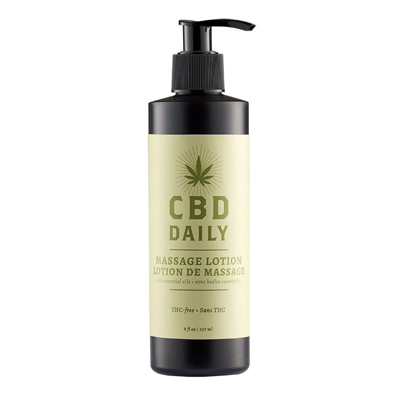 Earthly Body CBD Daily Massage Lotion