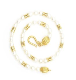 Shark Vertebrae Necklace - Vermeil (12 Piece)