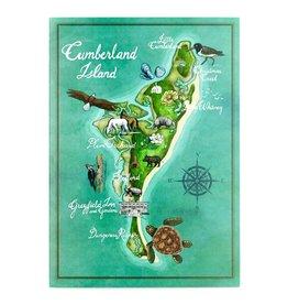 CI Map Illustrated Card