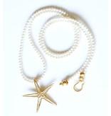 Starfish Pendant Necklace - Vermeil (Large) - Opera