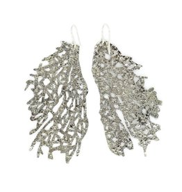 Fan Coral Earrings - Alpaca