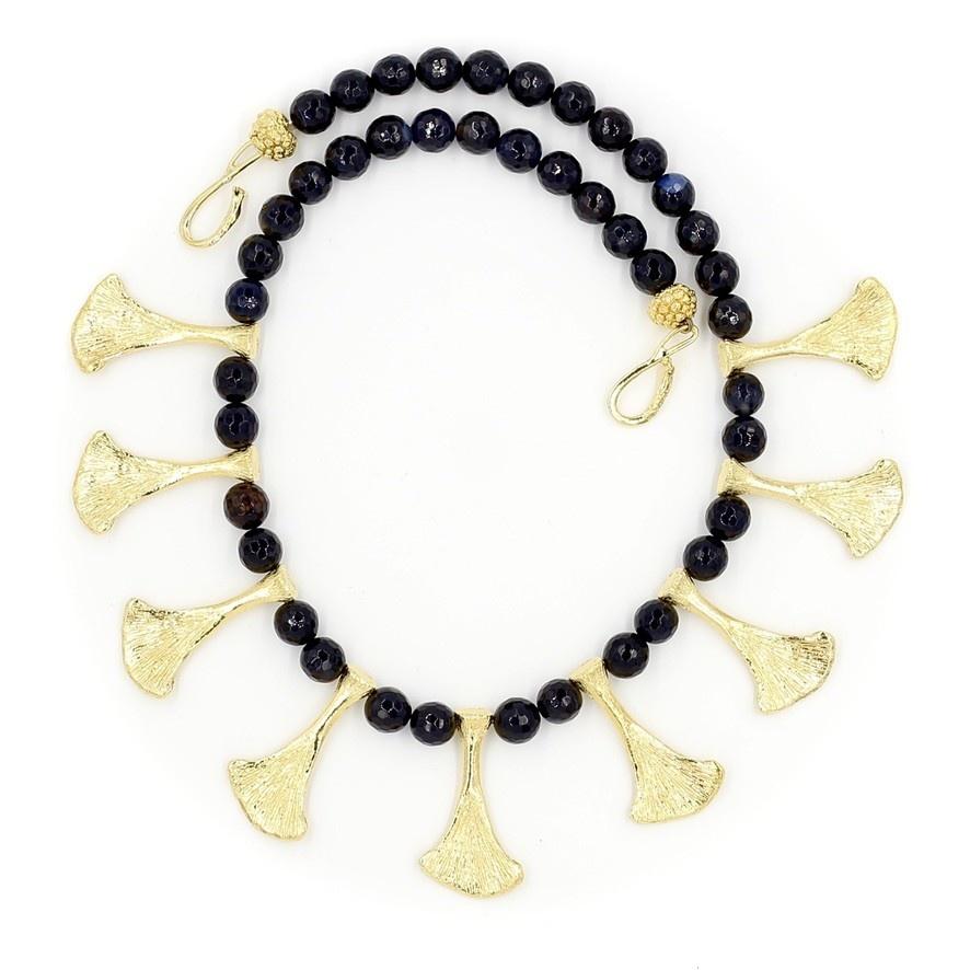 Armadillo Scapula Necklace - Vermeil