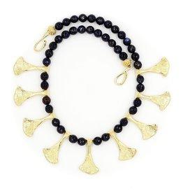Armadillo Scapula Necklace - 14K Gold