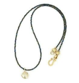 Shark Vertebrae Pendant Necklace - 14K Gold