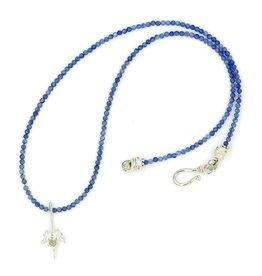 Rattlesnake Vertebrae Pendant Necklace - Sterling Silver (Small)