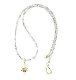 Rattlesnake Vertebrae Pendant Necklace - 14K Gold (Small)