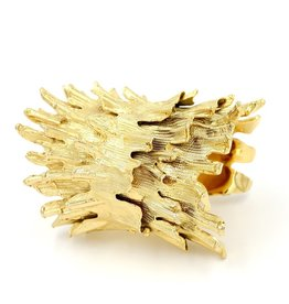 Spiny Murex Conch Cuff - Gold Plate (Double)