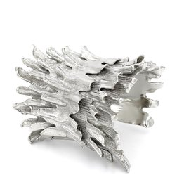 Spiny Murex Conch Cuff - Silver Plate (Double)