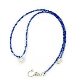 Kousa Dogwood Pendant Necklace - Sterling Silver