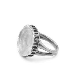 Shark Vertebrae Ring - Sterling Silver