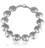 Sand Dollar Necklace - Alpaca