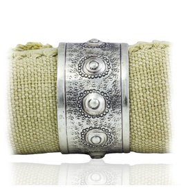 Sea Urchin Napkin Rings - Alpaca (set of 6)