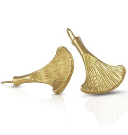 Armadillo Scapula Earrings - 14K Gold