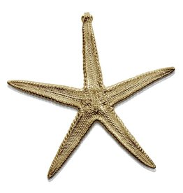 Starfish Enhancer  - 14K Gold (Large)