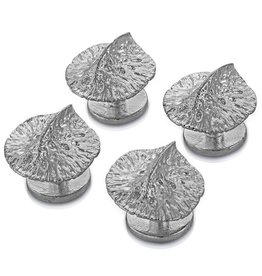 Alligator Scute Shirt Studs - Sterling Silver (Set of 4)