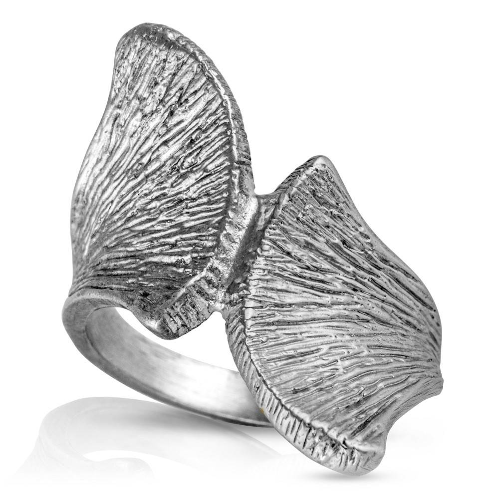 Armadillo Scapula Ring - Sterling Silver