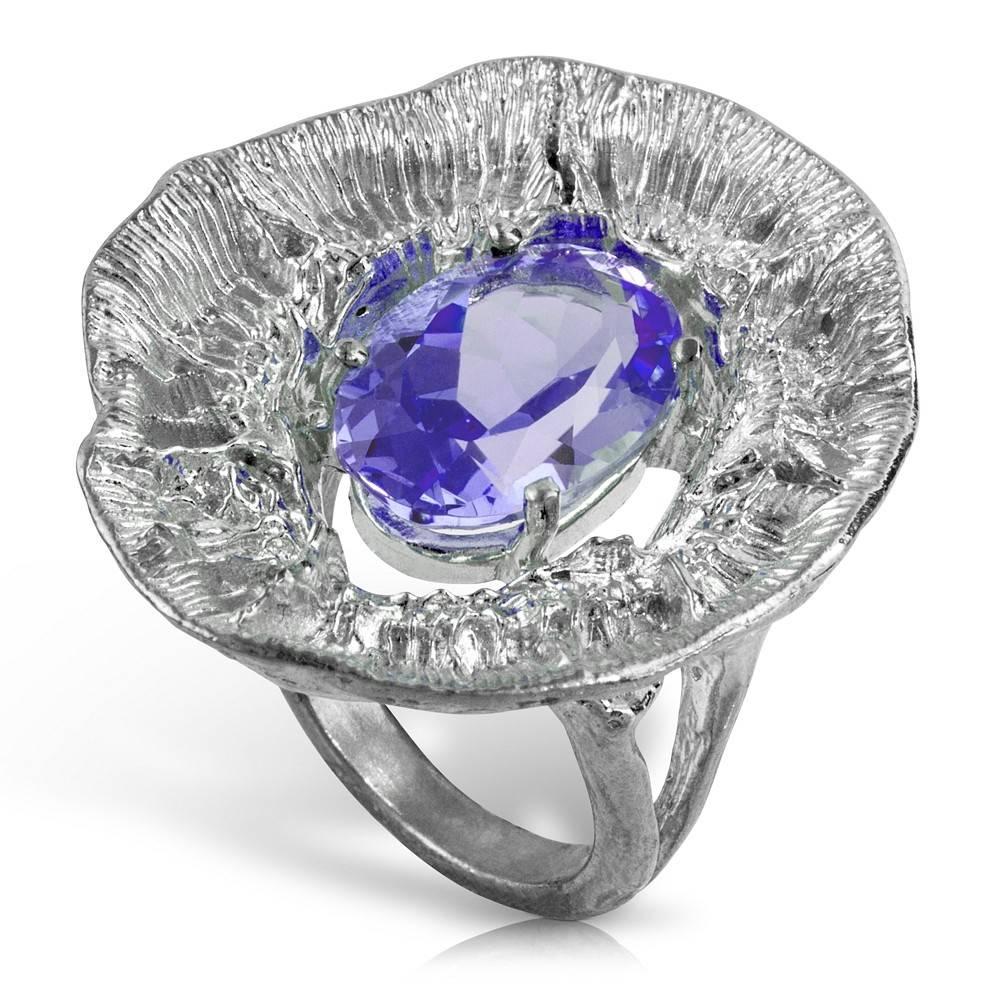Barnacle Ring - Sterling Silver (Amethyst)