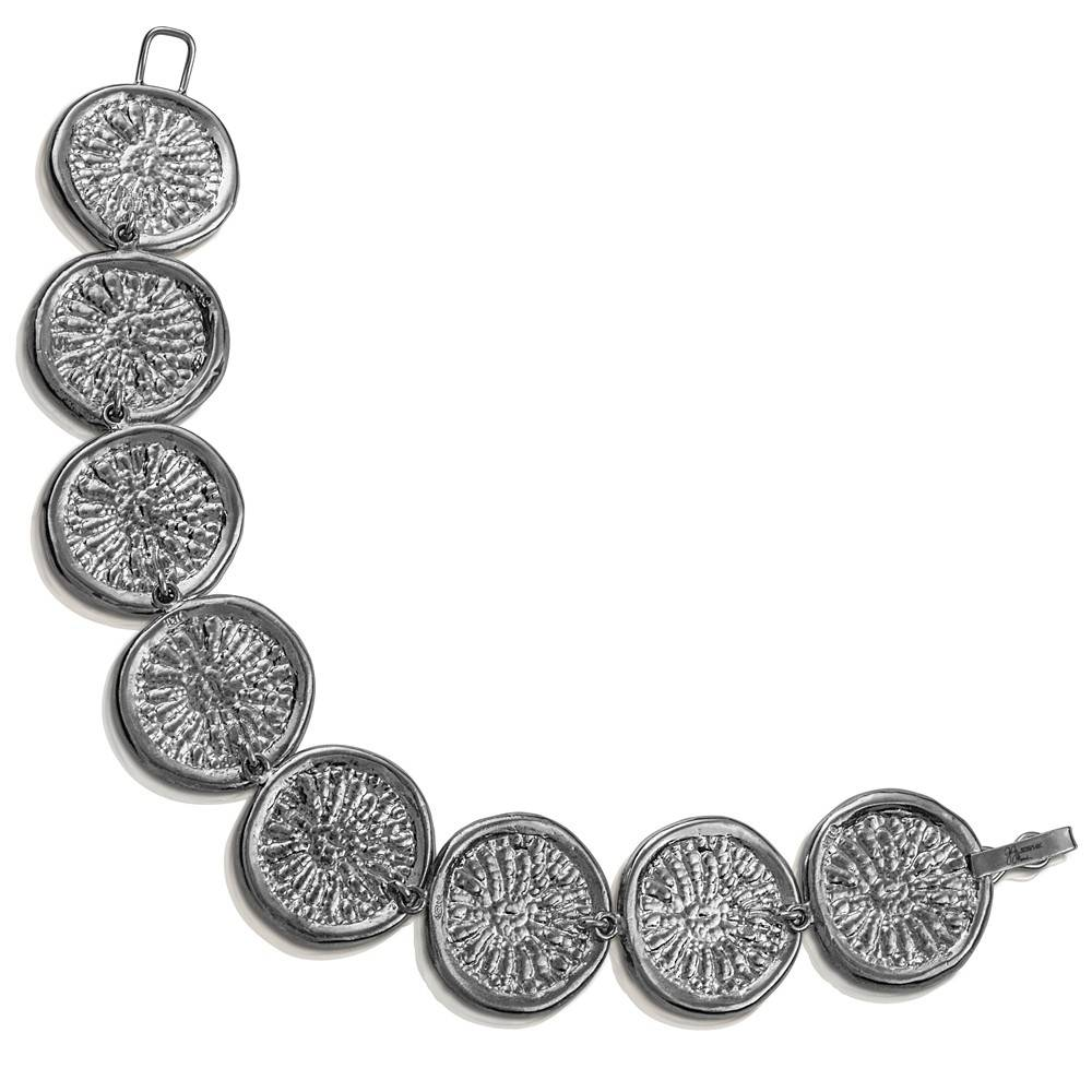 Dolphin Disc Bracelet - Sterling Silver