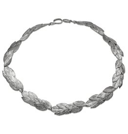 Sea Oats Necklace - Sterling Silver