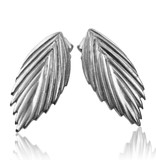 Sea Oats Earrings - Sterling Silver (Single)