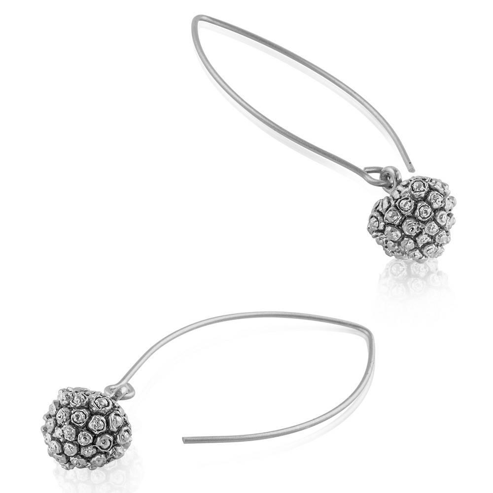 Kousa Dogwood Earrings - Sterling Silver