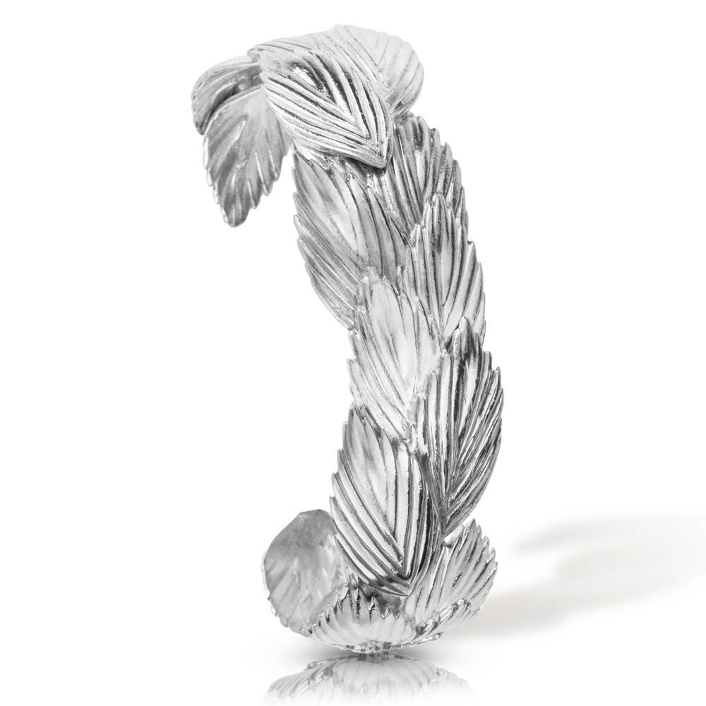 Sea Oats Cuff - Sterling Silver