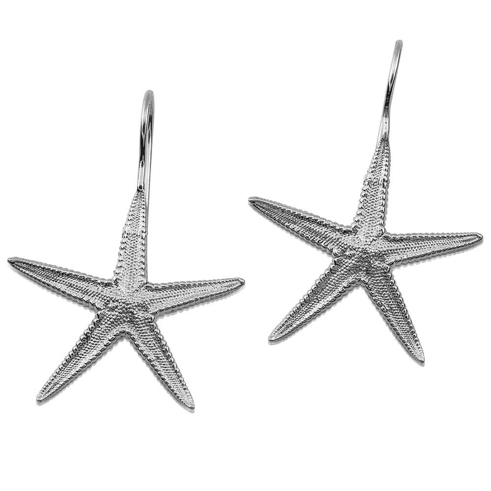 Starfish Earrings - Sterling Silver (Wire)